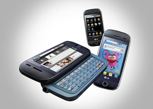 LG전자 안드로이드폰 GW620