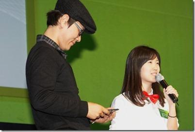 멜로디언님과 함께 많은 분들의 호감을 샀던 박지연 과장님(김윤지 대리님도 이쁘셨어요) © 꼬알라의 하얀집