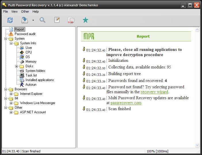 Multi Password Recovery 1.2.8.