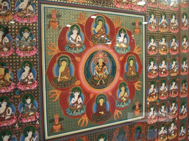 네팔 만다라특별전 - 2011.11.1~15 - 조계사 나무갤러리 / 히말라야 티베트 불교 미술