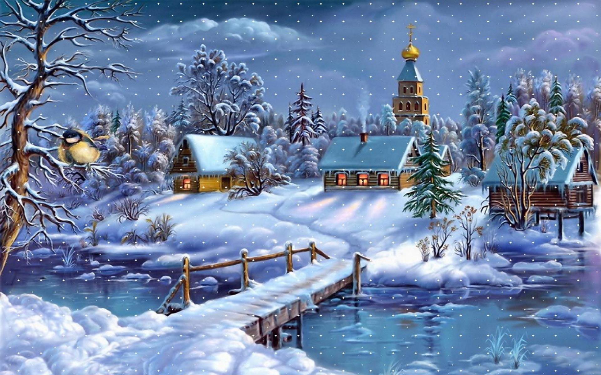 Fondo De Pantalla 3d De Navidad De Santa Vas De Luna Hd: 바탕화면 저장용 :: 바탕화면 1920x1200 No.32