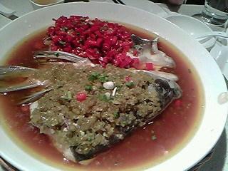 중국물고기요리
