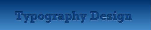 css3 활용, 타이포그래피 삽입 결과