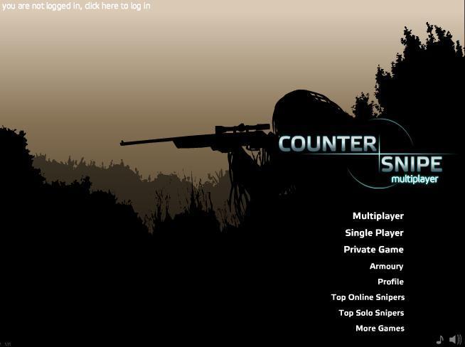 [멀티게임] 스나이퍼게임 Counter Snipe