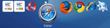 Mac OSX Dock 스타일 CSS 메뉴