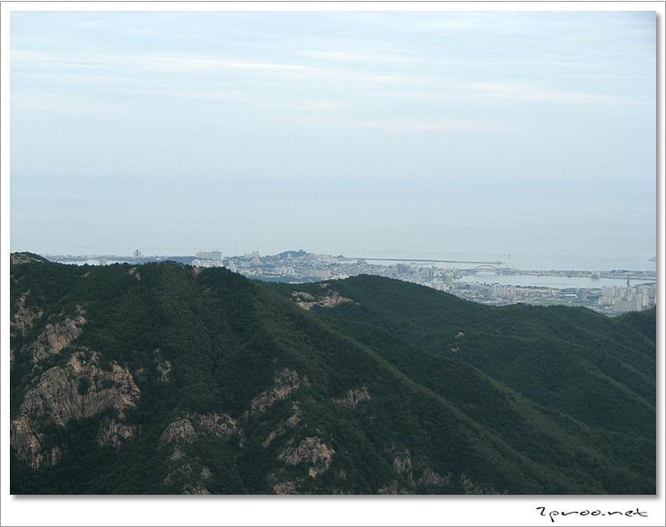설악산 케이블카 전망대, 속초시내 사진