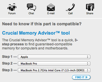 MacBook Pro Maximum Memory