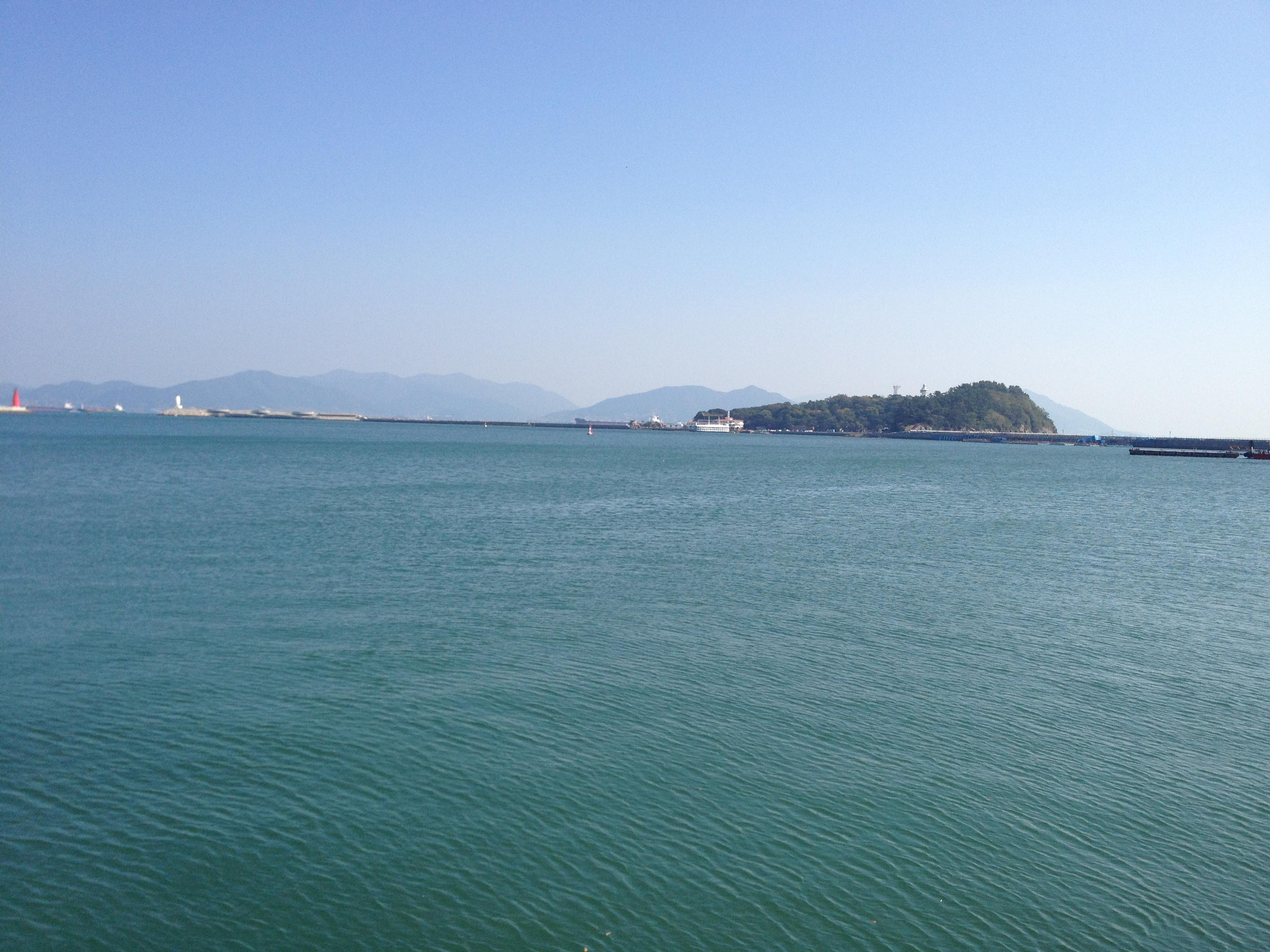 여수 앞바다