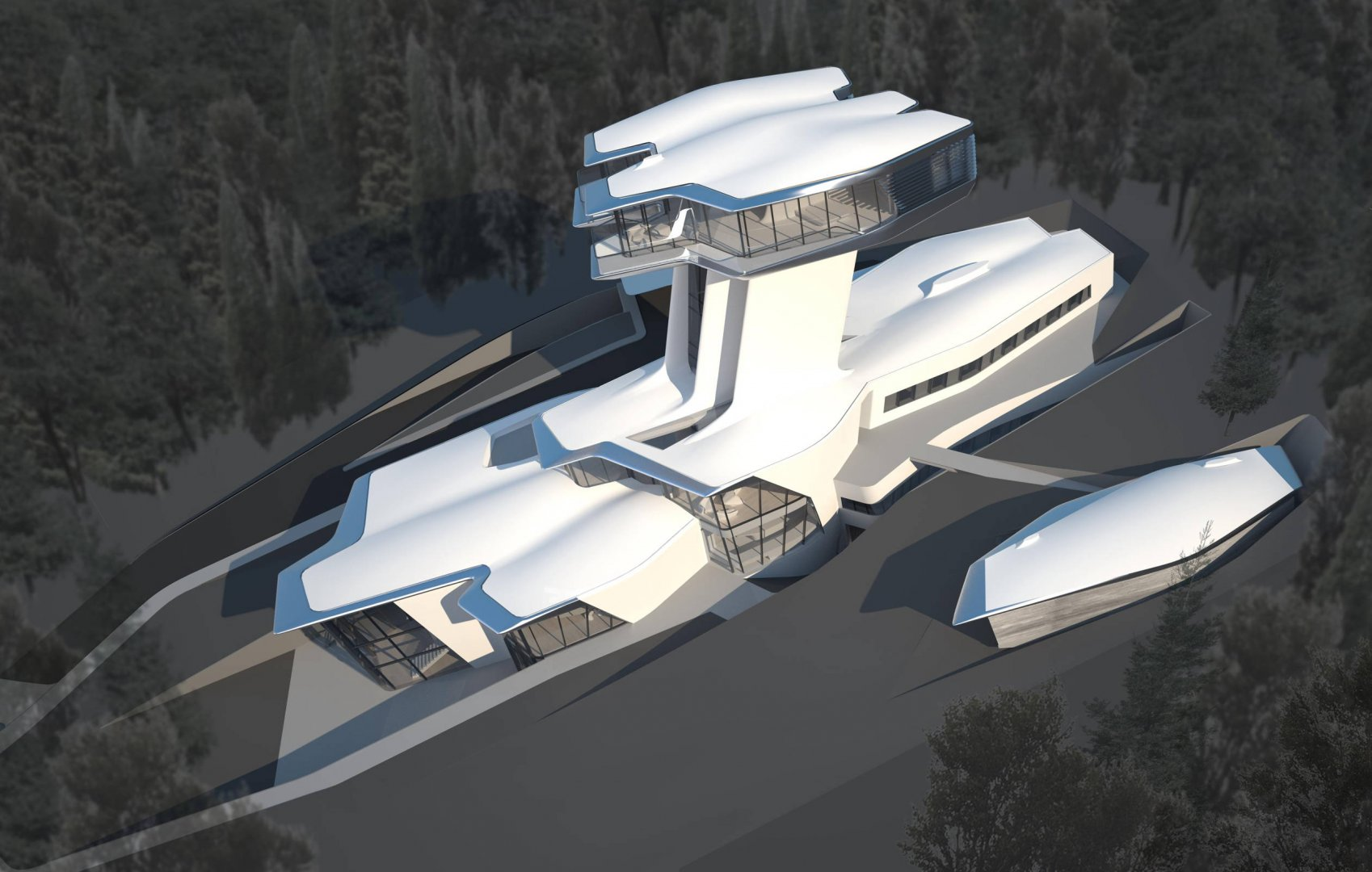 for House plans designed for future expansion