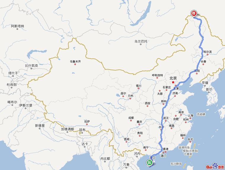 중국 최남단에서 최북단으로! 모허(漠河)여행! (흑룡강성 3-1호)