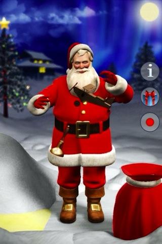 아이폰 말하는 산타 Talk,Santa,Talk
