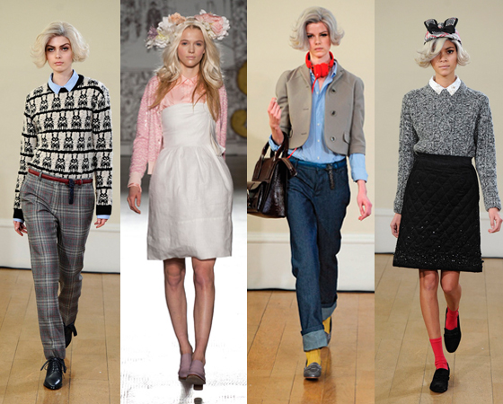 영국이 주목하는 젊은 패션 디자이너 피터 옌슨의 콜렉션 / 출처: 피터 옌슨 홈페이지