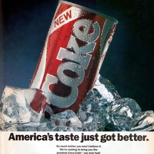 New Coke Ads