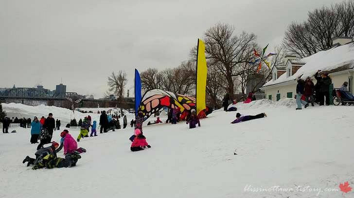 오타와 겨울 축제 모습입니다