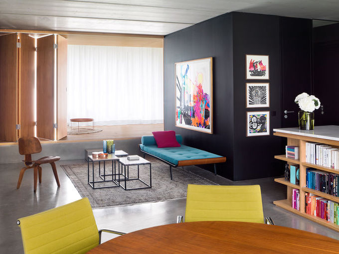 *색으로 활력을 더한 베를린 아파트의 재탄생-[ Bruzkus ] colorful Berlin apartment