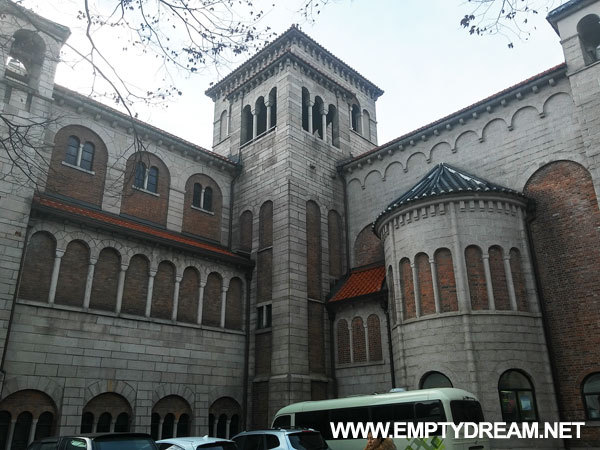 대한성공회 서울주교좌성당 - 서울시청 건너편 90년 된 유럽풍 성당