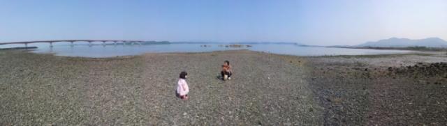 사천 어느 바닷가