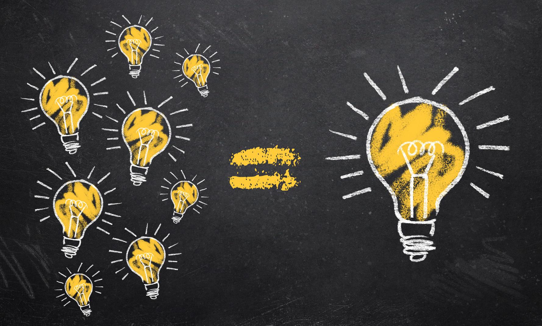 Creative And Smart Lg Cns 내 머릿속의 반짝이는 생각들 어떻게 표현해야