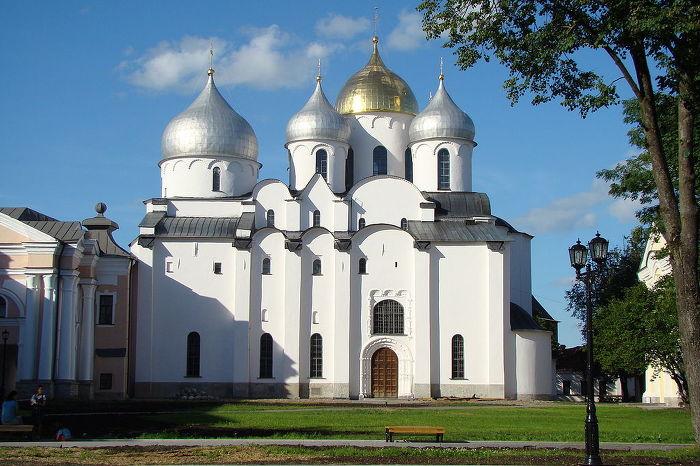 성 소피아 대성당 Cathedral of St. Sophia 외부