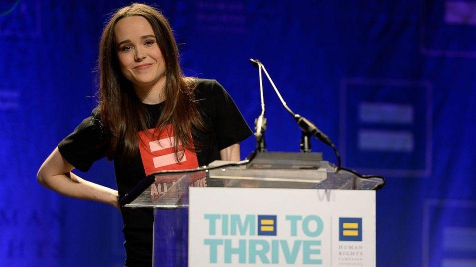 엘렌 페이지(Ellen Page)의 커밍아웃(Coming out) 영상 [한글자막]