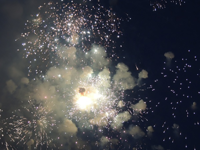Festive night beautiful fireworks HD picture 08