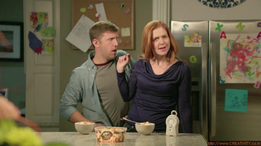 아기를 재운 엄마, 아빠의 비밀스러운 취미 - 브라이어스 젤라또(Breyers Gelato Indulgences)의 TV광고 '늦은 밤(Late Night)'편 [한글자막]