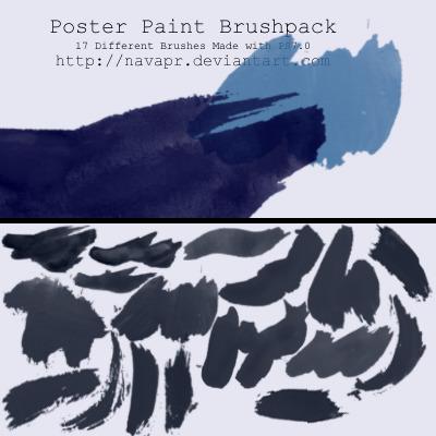 17 가지 무료 포토샵 페인트 브러쉬 - 17 Free Photoshop Paint Brushes