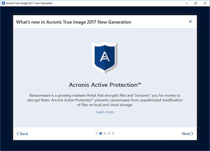 아크로니스 트루 이미지 2017, 랜섬웨어, 보호, PC 백업툴,IT,IT 제품리뷰,Acronis True Image,한분야에 최고의 툴이라고 할 수 있습니다. 안전하게 백업하거나 복제 하거나 할때요. 아크로니스 트루 이미지 2017는 이번에 랜섬웨어 보호까지 가능해진 PC 백업툴로 돌아왔습니다. 클라우드 기능을 추가하여 저장공간이 없더라도 백업이 가능합니다. 아크로니스 트루 이미지 2017는 Acronis Active Protection가 추가 되었습니다. 사실 기존에 2016 클라우드와 크게 차이가 없는듯 보이는데요. 내부적으로는 보호기능이 더 강화가 되었습니다.