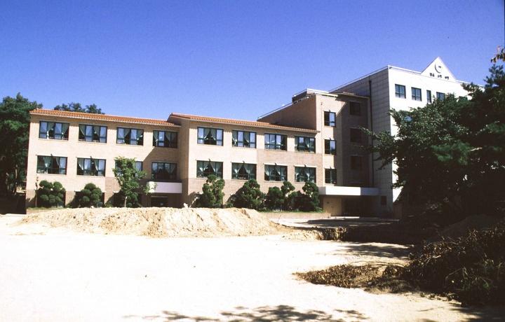 화랑초등학교 학교숲 조성중
