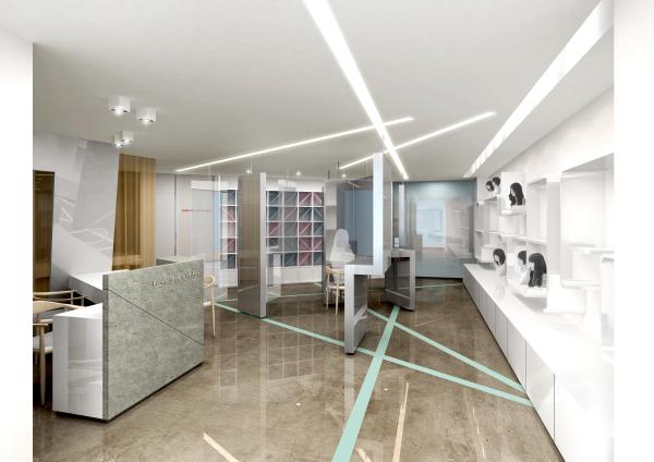 Fashion shop design proposal yoonzip interior architecture for Designer stuhle outlet