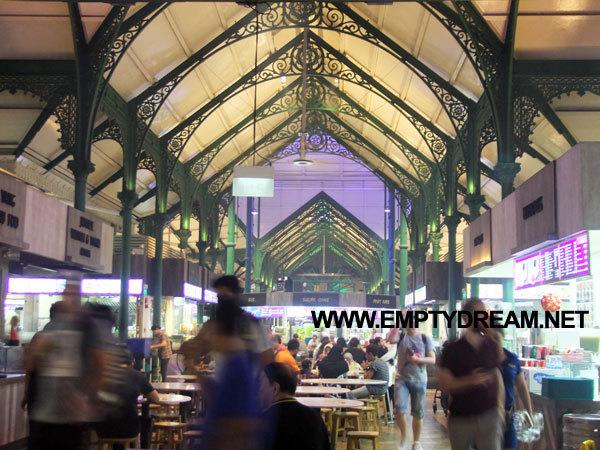 싱가포르 여행 - 마칸수트라 글루톤스 호커센터 & 라우 파 삿 호커센터