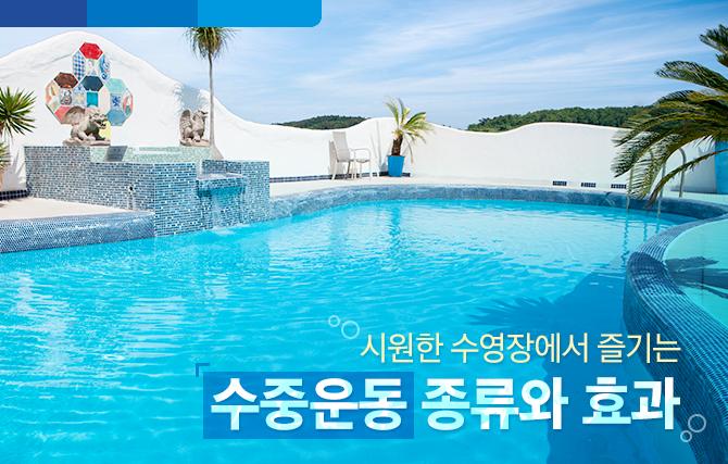 시원한 수영장에서 즐기는 수중운동의 종류와 효과