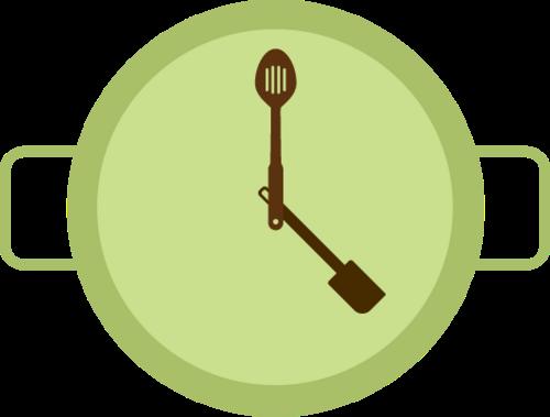 음식 시계