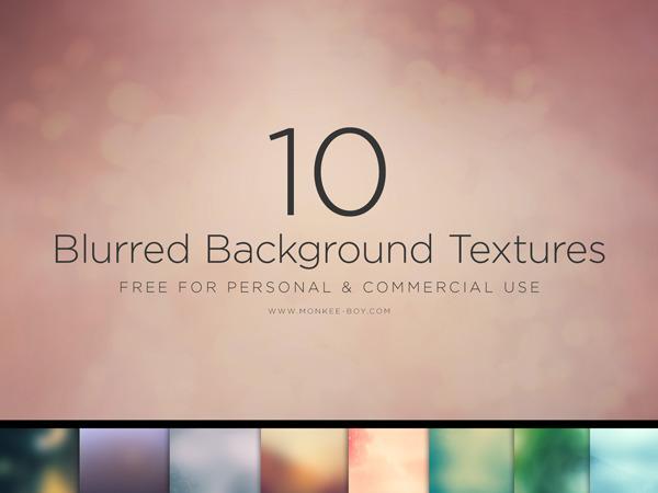 10 가지 무료 백그라운드(배경) 이미지 - 10 Free Blurred Background Textures