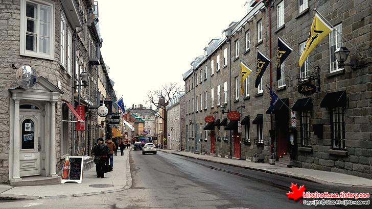 캐나다 동부여행 퀘벡 시티 구시가지