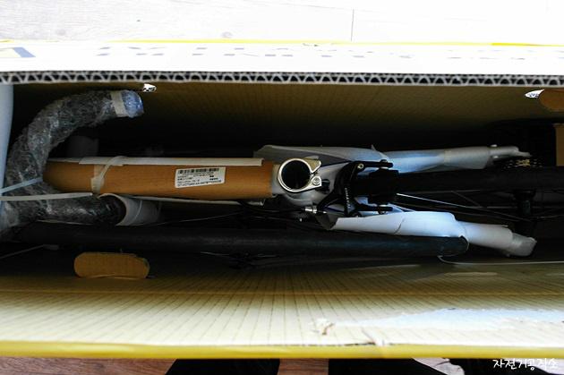 박스 배송된 새 자전거(로드바이크) 조립법