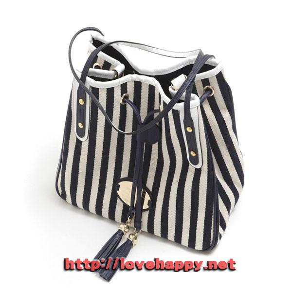 여성가방 숄더 백 마린룩 스타일의 줄무늬 002