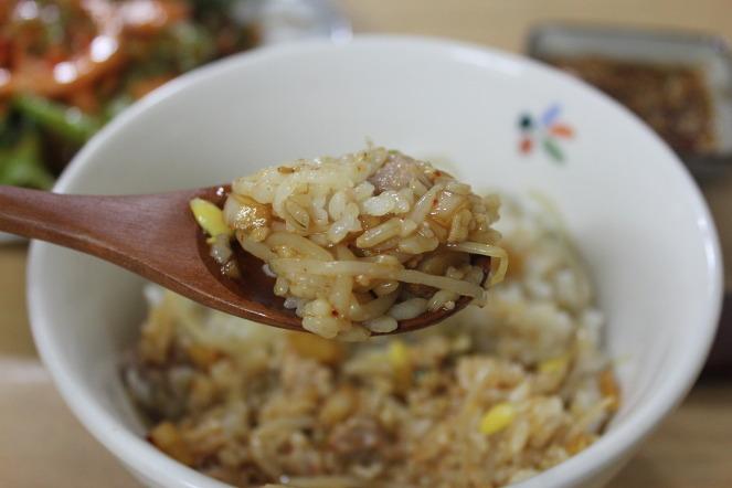 간단 레시피- 돼지고기콩나물밥~