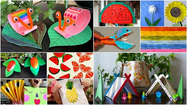 엄마표 여름 미술놀이 10
