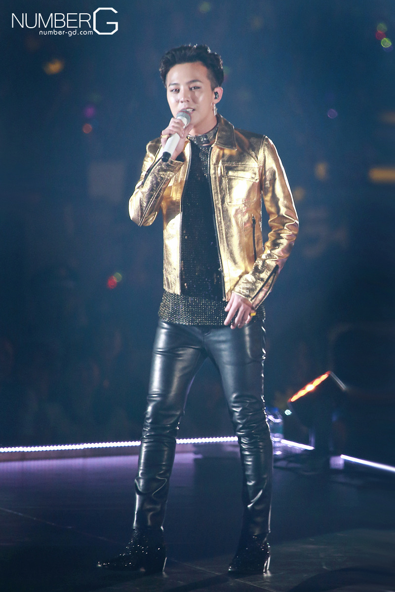 12052014 More HQ G-Dragon@YG Family Power Tour 2014 in Tokyo Dome