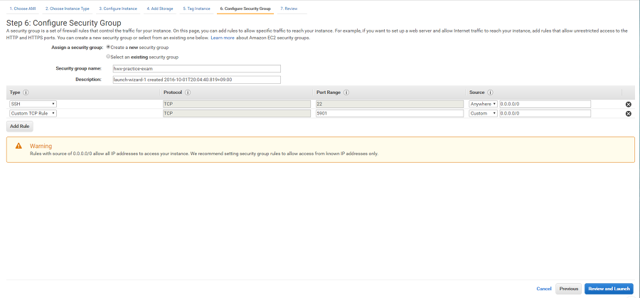 HDP on AWS