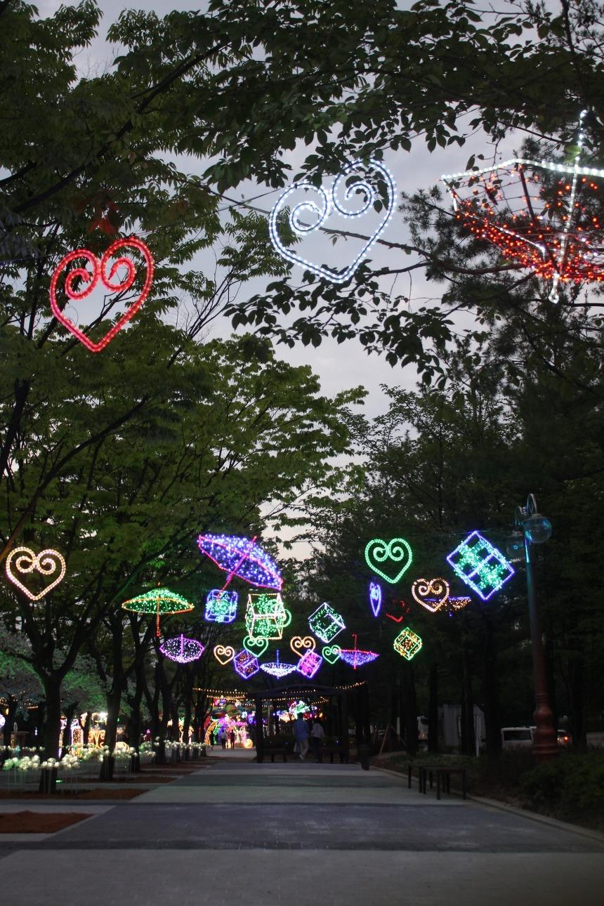 대전서구힐링아트페스티벌 아트빛터널