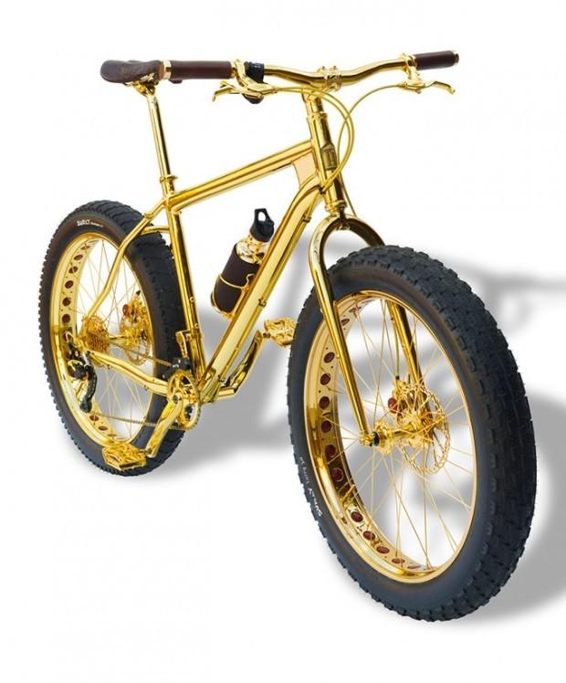 사진은 권력이다 :: 세상에서 가장 비싼 10억 짜리 황금 MTB 자전거