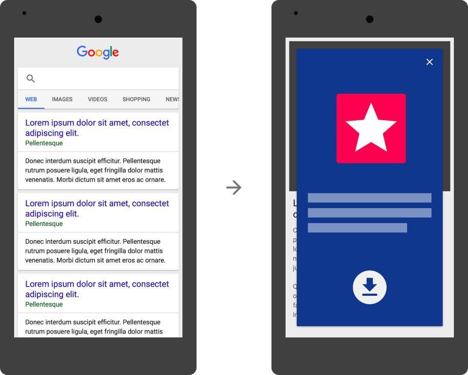 구글 전체화면 광고 검색불이익