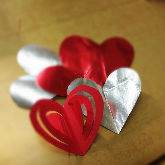 발렌타인데이 하트 모빌