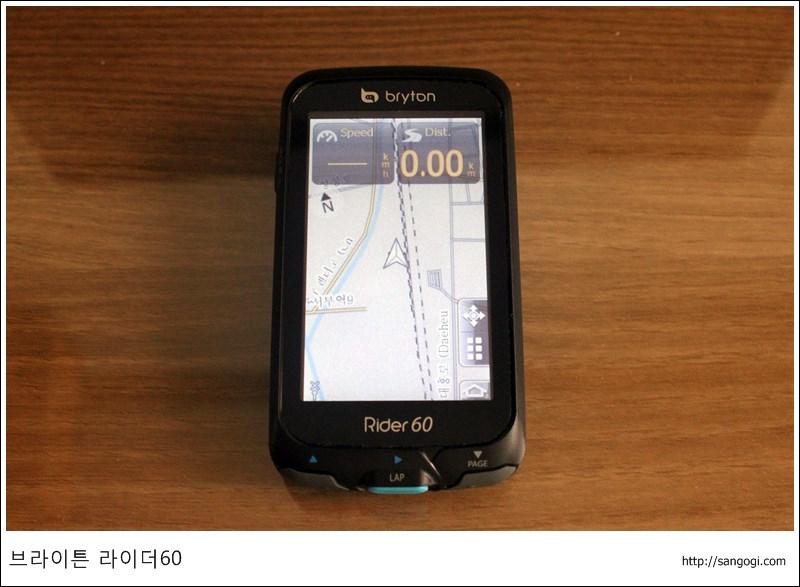 OSM 지도 화면
