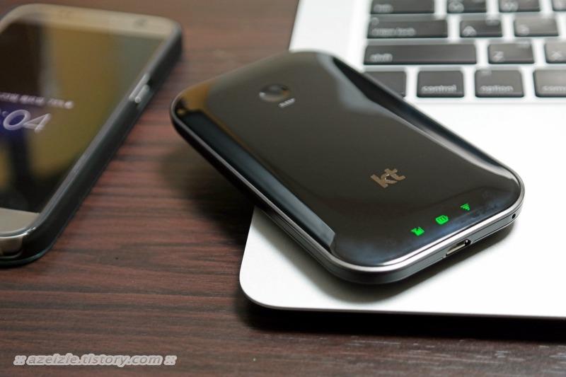 KT LTE 모바일 라우터 egg+S 무선 공유기의 급을 바꾸다!