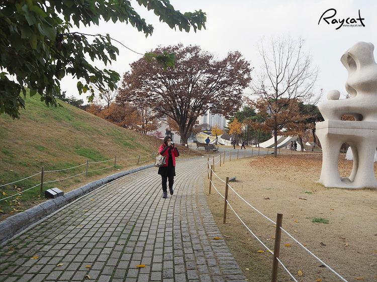 올림픽공원 산책로