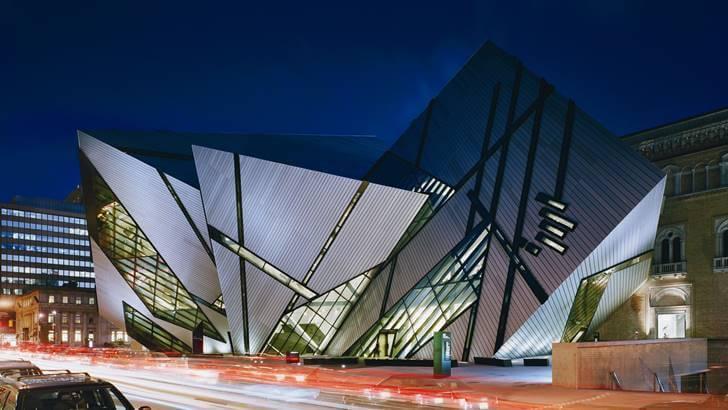 토론토 자연사 박물관입니다
