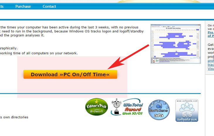 컴퓨터 사용기록 pc on off time 프로그램 다운 및 사용법
